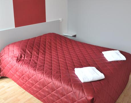 chambre hotel Relais de Barbezieux